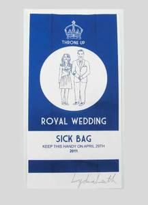 Royal Wedding Sickbag