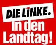 Die Linke - poster showing where it wants to be - parliament