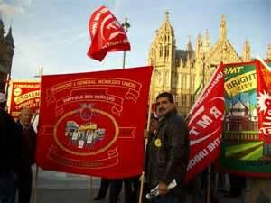 Defeating the anti-trade union laws - official lobbies of Westminster or independent action?