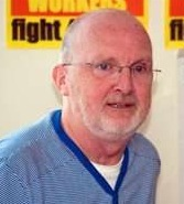 Jim Bollan, SSP - suspended by West Dunbarton SNP council for defending workers