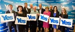 The national 'Yes' campaign - the SNP calls the shots