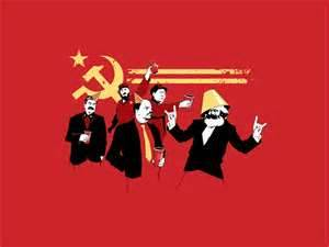 Counterfire shows a certain irreverence for official Marxist icons!
