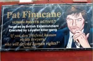 Pat Finucane mural