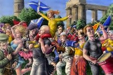 Image from the republican Declaration of Calton Hill