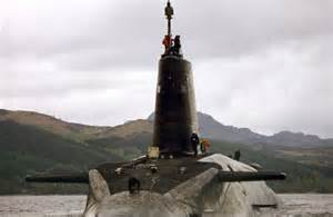 Faslane nuclear submarine base on the Clyde