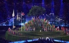 'Isles of Wonder' - opening ceremony of London Olympic Games, 2012