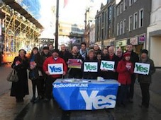 Local 'Yes' campaigners