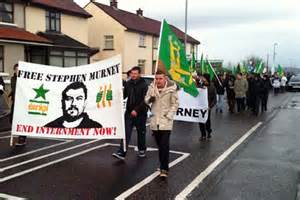 Demonstration in Newry in support of Stephen Murney