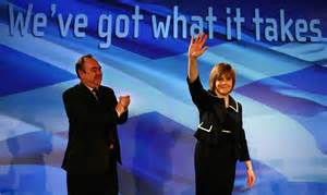 New SNP - 'We've got what it takes' - corporate backing!