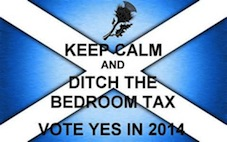 Opposing the Bedroom Tax - the Scottish nationalist response disunites
