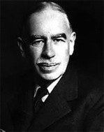 J. Maynard Keynes developed the economics to bail out capitalism for the capitalists