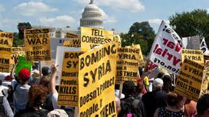 Protest in Washington against US war on Syria