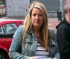 Louise Minihan, eirigi councillor for Ballyfermot, Dublin