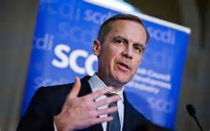Matin Carney, Governor of the Bank of England outlines Scotland's future financial and fiscal subjection under  sterling