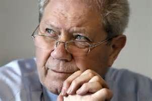 "Jim Sillars in a pensive moment at his book launch - ""Ah, I can remember the glory days of the 1970's"""