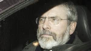 Gerry Adams arrested by PSNI with British state backing
