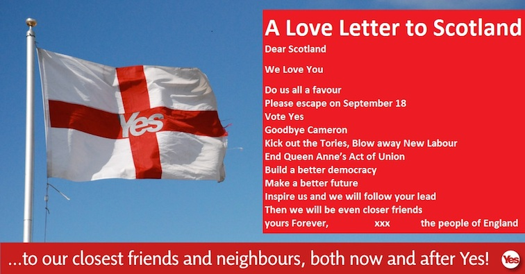 A love letter from England