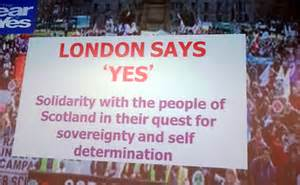 'London Says Yes' rally