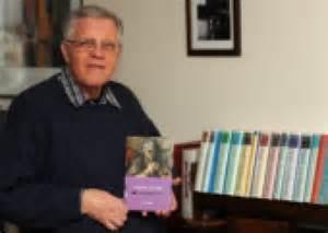 David Purdie with his book on Hugh McDairmid written in 2012