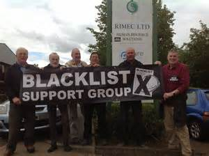 Campaigning against the blacklist