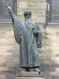 John Knox - a powerful challenge to the existing order