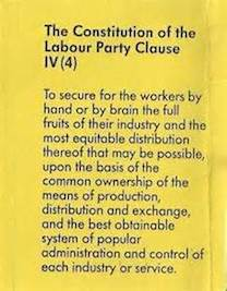 Labour Party Clause 4