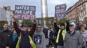 Anti-Water Charges demonstration in Dublin on January 31st