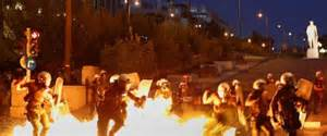 Reaction in Athens to Syriza government's capitulation to ECB and EU bureaucracy