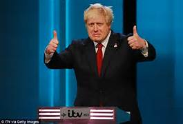 Short-lived thumbs up from Boris Johnson after Brexit vote